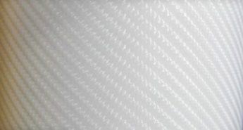 4д белый карбон под лаком пленка