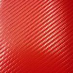 Пленка красный карбон 3д АРА - Италия с микроканалами 0,75х1м