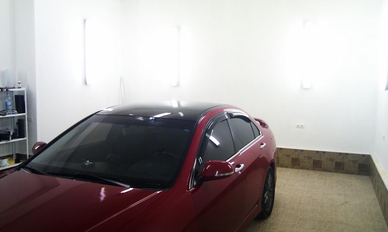 оклейка крыши авто под панораму на Honda Accord