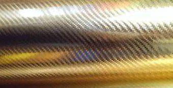 пленка 4д золотой хром карбон под лаком