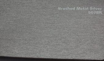 пленка arlon brushed silver 507br шлифованный алюминий металл