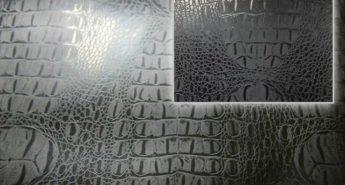 черная пленка под кожу крокодила аллигатора
