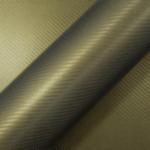 Пленка CWC-504CF - Carbon Army Gold ( Золотой армейский карбон )