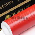 3D карбон червоний CFT-14 - Carbins