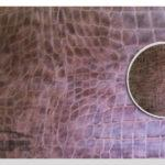 Пленка под кожу аллигатора темно-коричневая 0,9х1м - D-c-fix™