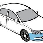 Audi A4 2008 - 2011 Передний бампер