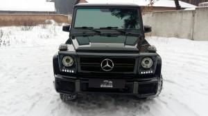 Mercedes Gelendvagen оклейка пленкой
