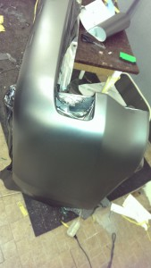 оклейка авто серой графитовой матовой пленкой Toyota Land Cruiser 200